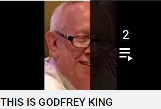 THIS IS Godfrey King - Composer, Arranger, Pianist - Click to play list